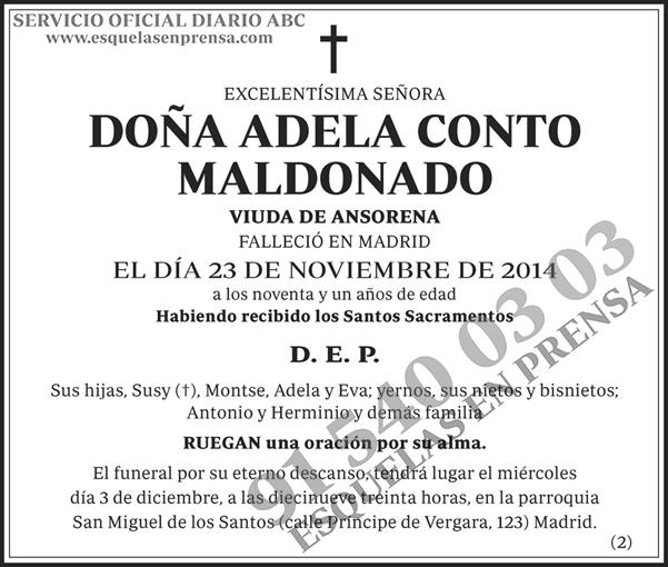 Adela Conto Maldonado